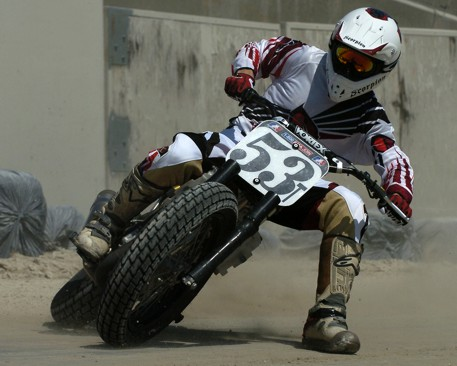 Don Taylor Canadian Flat Track Champion