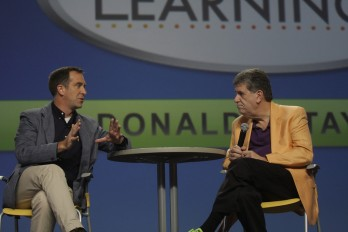Donald H Taylor with Elliott Masie at Learning 2012