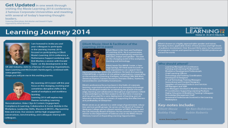 Learning Journey 2014