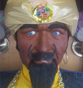 Zoltar Fortune Teller Close Up - very